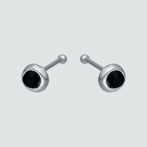 Aro Piercing Circón Ónix 3 mm