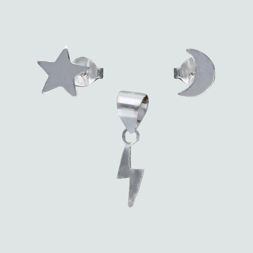 Conjunto Desigual Estrella Media Luna y Rayo