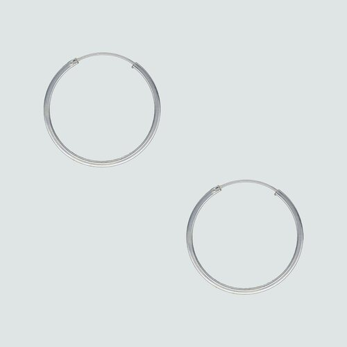 Aro Argolla Corte Cuadrado 25 mm