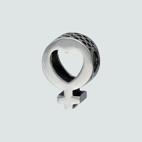 Colgante Charm Corazón Símbolo Venus