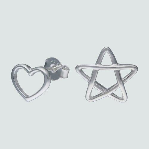 Aro Desigual Corazón y Estrella