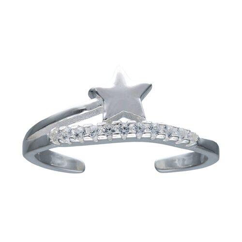Anillo Ajustable Estrella y Circones