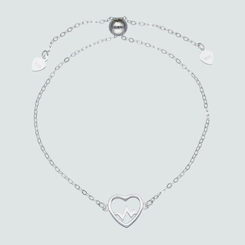 Pulsera Ajustable Corazón Diagrama de Rayos