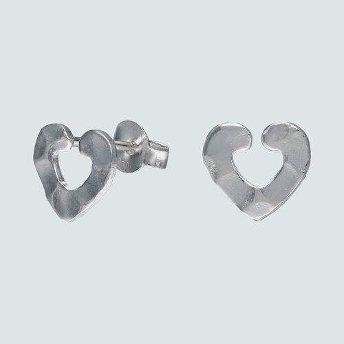 Aro Corazón Martillado