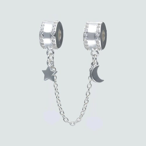 Colgante Charm Separador con Cadena de Seguridad Circones