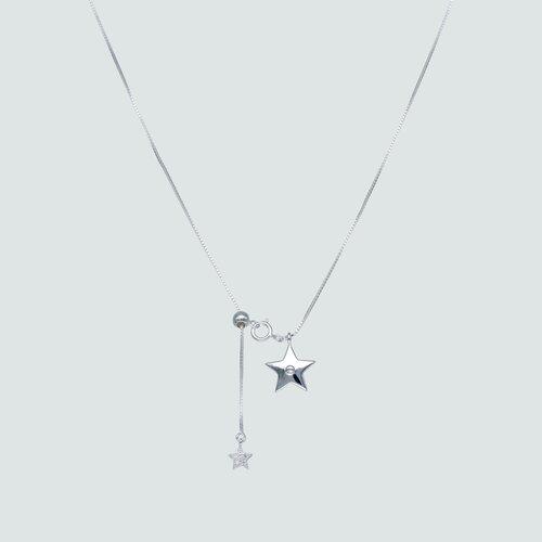 Collar Ajustable Veneciano Estrellas con Circones