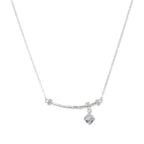 Collar Clavos Circones y Cristal Hecho con Swarovski® Tornasol