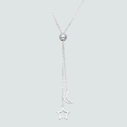 Collar Ajustable Media Luna y Estrella