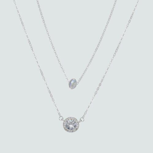 Collar Doble Cristal Hecho Swarovski® y Circones