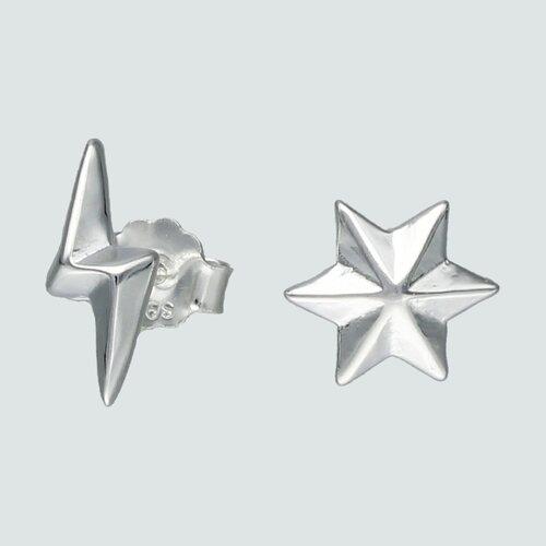Aro Desigual Rayo y Estrella Fugaz