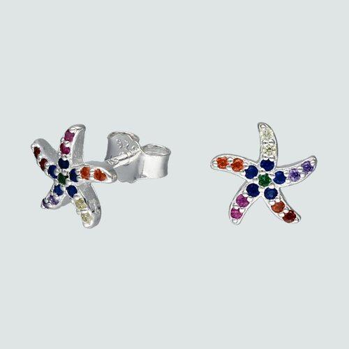 Aro Estrella de Mar Circones Multicolor