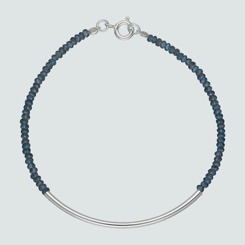 Pulsera Hecho con Cristal Swarovski® Azul