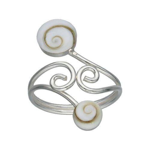 Anillo Espirales Ojo de Shiva