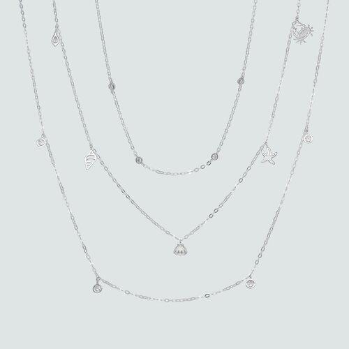 Collar Triple Chiches Marinos