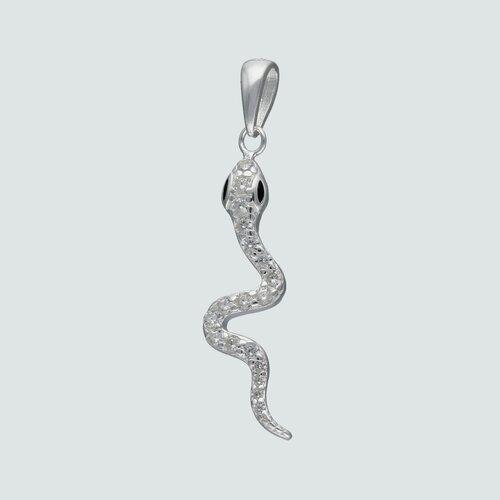 Colgante Serpiente con Circones Ónix