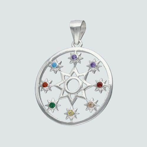 Colgante Mandala Circones Multicolor