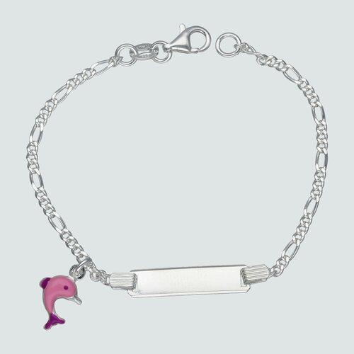 Pulsera Cartier Piocha Delfín Esmaltado 16 cm