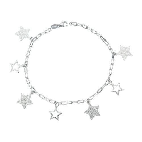 Pulsera Tradicional Estrellas Martilladas