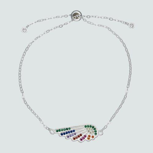 Pulsera Ala con Circones Multicolor