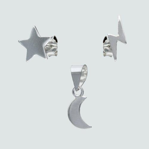 Conjunto Desigual Estrella Rayo y Media Luna