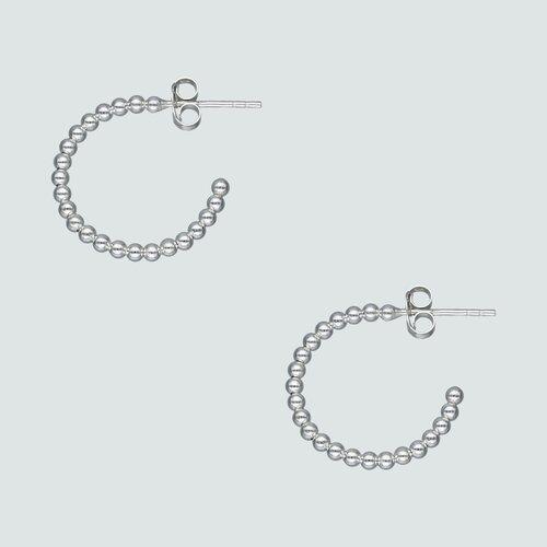 Semi Argolla con Esferas 20 mm