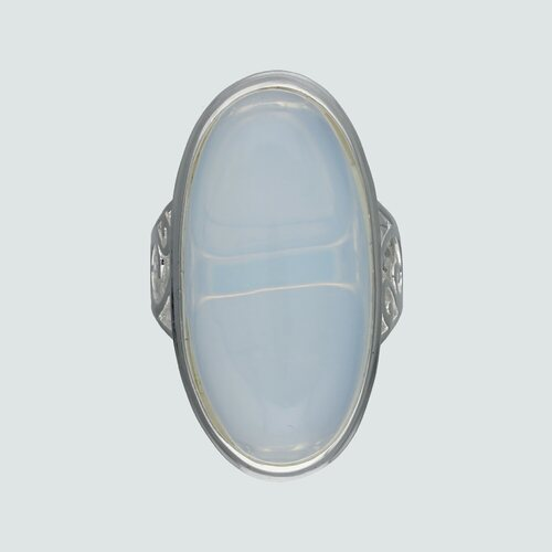 Anillo Piedra Luna Ovalada