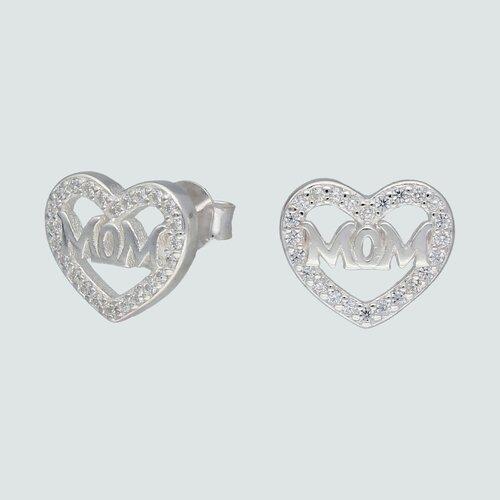 Aro Corazón Mom con Circones