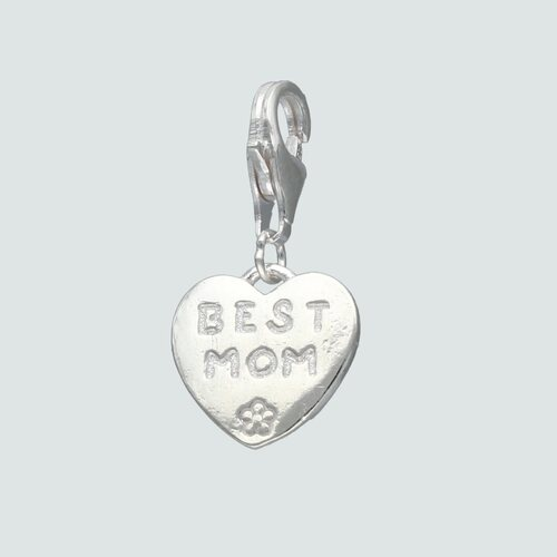 Colgante con Broche Corazón Best Mom