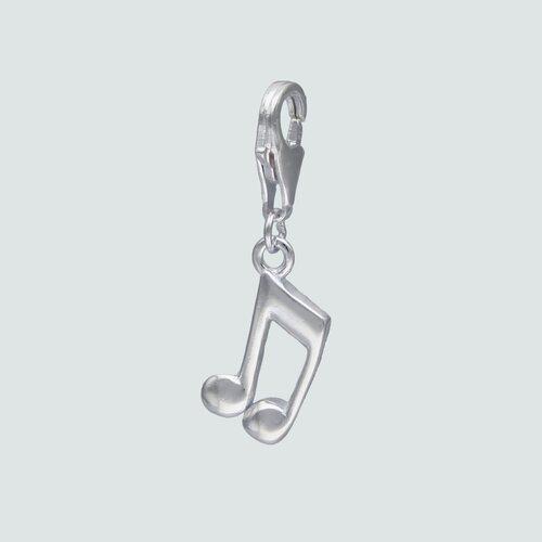 Colgante con Broche Nota Musical