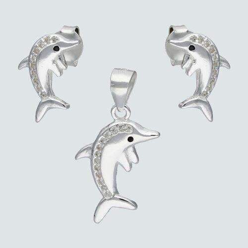 Conjunto Delfín con Circones Ónix