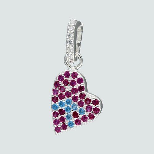 Colgante Corazón Circones Multicolor