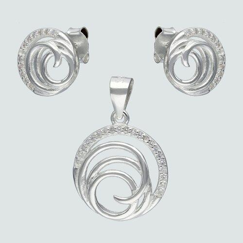 Conjunto Circulo Espiral Circones