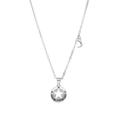 Collar Media Luna Estrella Circones