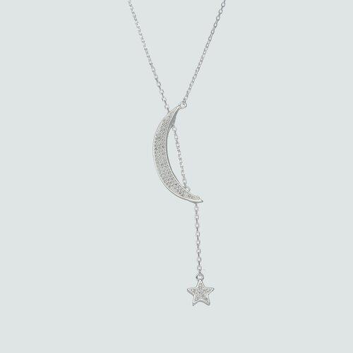 Collar Media Luna y Estrella Circones