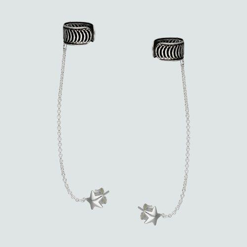 Aro Bidu con Cadena Espiral y Estrella