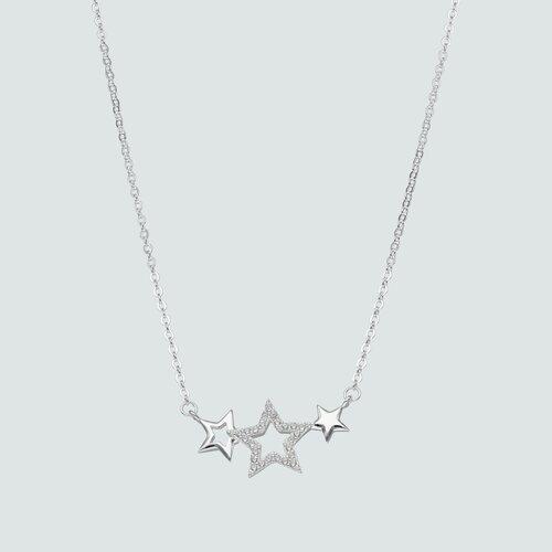 Collar Estrellas con Circones