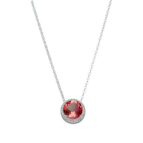 Collar Circones Cristal Hecho con Swarovski® Tornasol