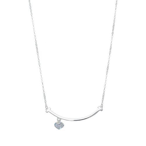 Collar Clavo Cristal Hecho con Swarovski® Tornasol