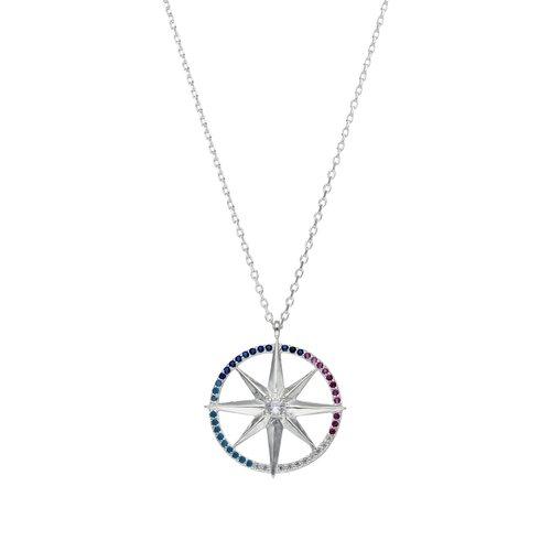 Collar Estrella Fugaz Circones Multicolor