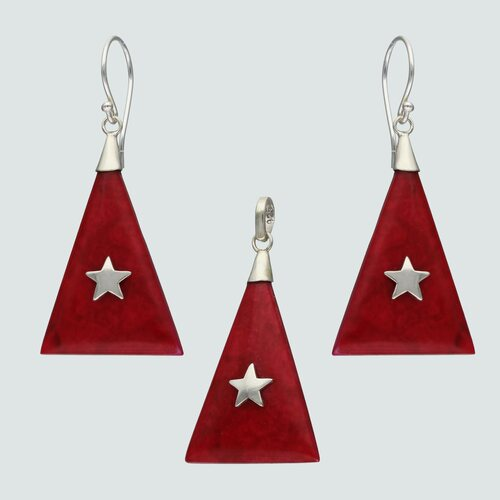 Conjunto Triangulo Jaspe con Estrella