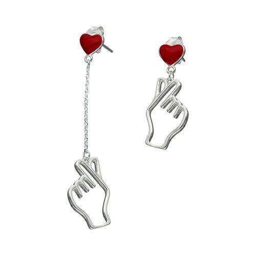 Aro Desigual Símbolo de Amor Esmaltado