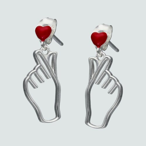 Aro Símbolo de Amor Esmaltado