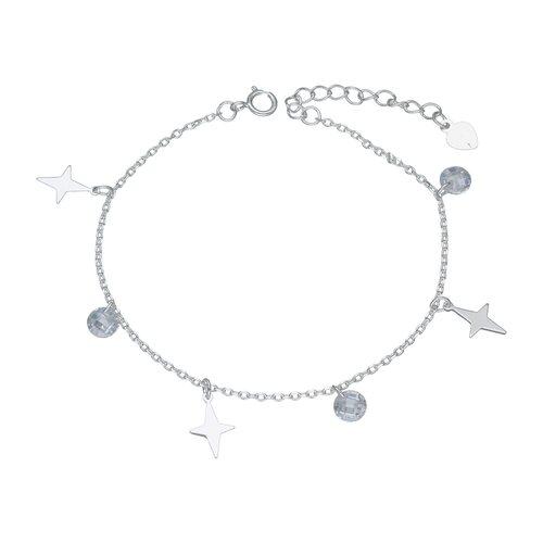 Pulsera Estrella Fugas y Cristales