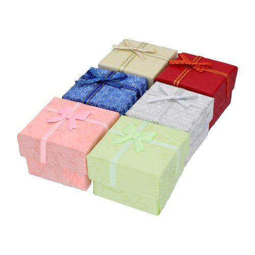Caja de Anillo Pequeña,  Color al Azar