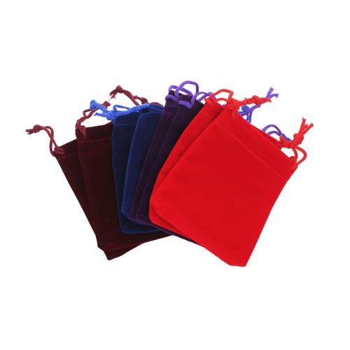 Bolsa Terciopelo 10 Unidades  Color al Azar