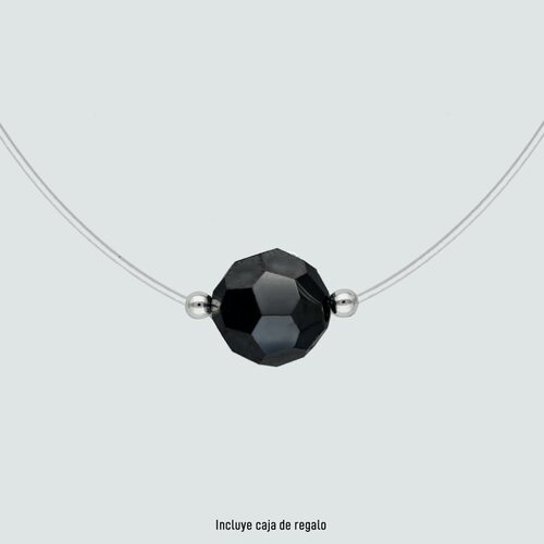 Fantasma Esfera Hecho con Cristal Swarovski® Negro