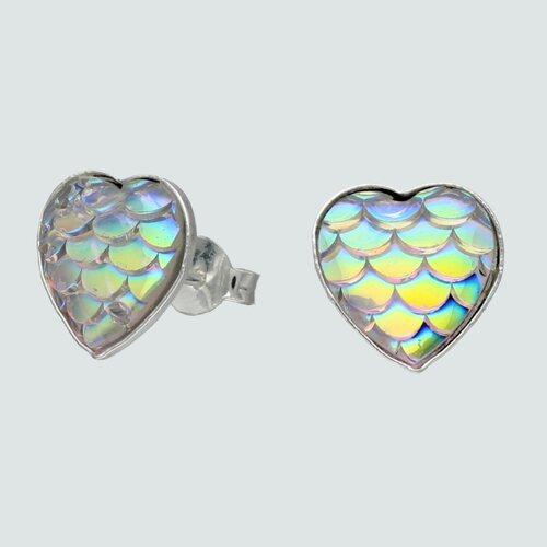 Aro Corazón Cristal Tornasol