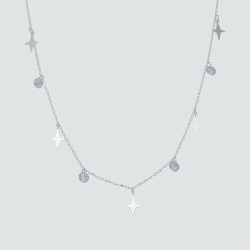 Collar Estrellas y Cristales Hecho con Swarovski®