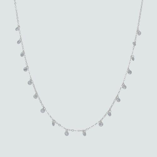 Collar Lluvia de Cristales Hecho con Swarovski®