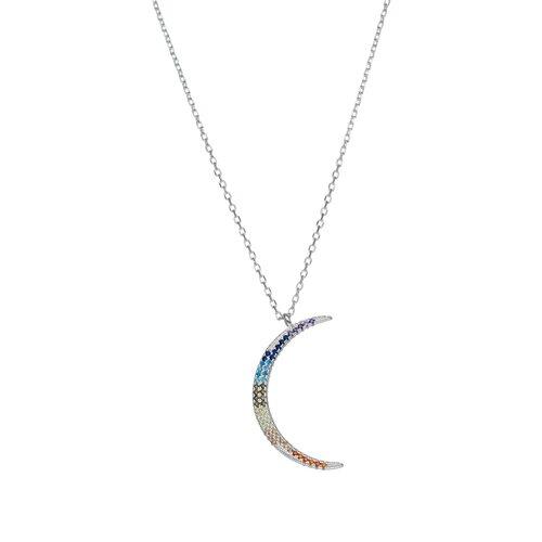 Collar Media Luna Circones Multicolor